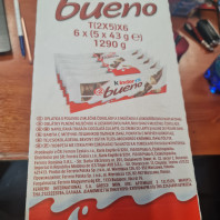 Kinder bueno T(2X5) x 6 - OFFERTA CAMION COMPLETO