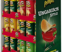 PRINGLES DISPLAY SONDERPOSTEN