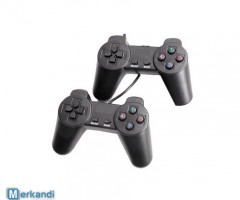 Game Pad W / Shock, 8-Wege-Richtungstaste, Plug & Play