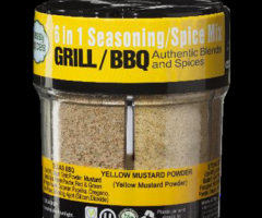 FRECHE SPICE GRILL / BBQ SPICE 6 in 1 Würzmischung