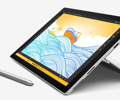 Microsoft Surface PRO 4 Core™ i5-6300U 2.4GHz 128GB SSD 4GB 12.3""