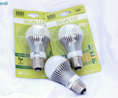 Sigalux High Power LED A55 E27 5 W - LED LAMPE LEUCHTE GLÜHBIRNE BIRNE