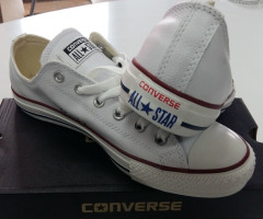 Converse All Star Herren Leder Schuhe - WHITE