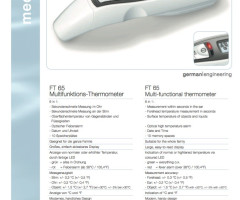 Beurer Multifunktions Thermometer Fieberthermometer