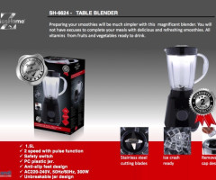 Swiss Home Blender 1,5L 300W Mixer Standmixer