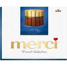 Merci Blue Finest Selection, 250g Sonderposten Verkauf