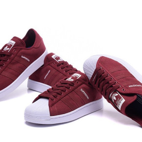 Adidas Superstar RED SHOES MEN