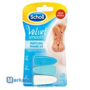 Scholl Velvet Smooth Electronic Nail Care Refill