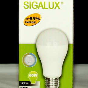 LED HIGH POWER DOUBLE CLICK LAMPE Sigalux A60 3335 12W Glühbirne