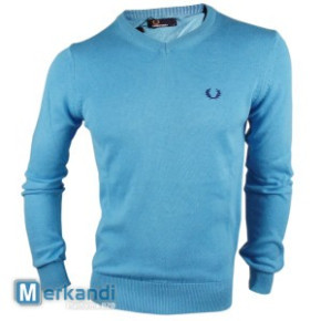 Fred Perry Pullover Hellblau 5er-Lot