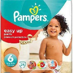 Pampers easy up 6 38 pcs günstig