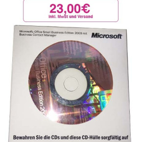 Microsoft Office Small Business Edition 2003 mit Business Contact Mana