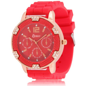 Cheeky HE001 Red Chronostyle statt 39.95 Euro