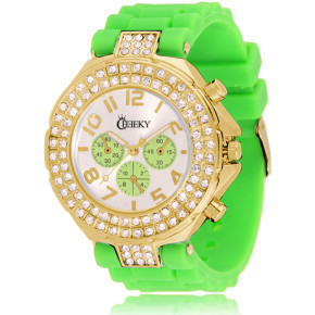 Cheeky HE003 Gold Green Chronostyle statt 39.95 Euro