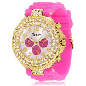 Cheeky HE003 Gold Hot Pink Chronostyle statt 39.95 Euro