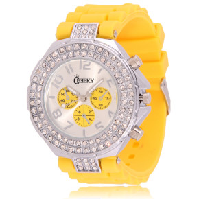 Cheeky HE003 Yellow Chronostyle statt 39.95 Euro