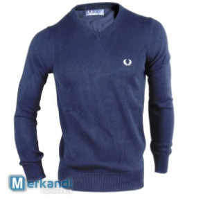 Fred Perry Pullover Navy 5er-Lot