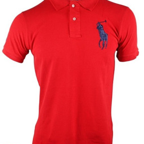 Ralph Lauren Poloshirt Rot (big Pony) 6er-Lot