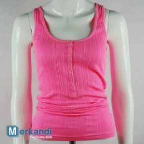 Ärmelloses Shirt Pink 10er-Lot