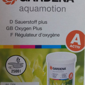 Gardena Aquamotion Sauerstoff plus