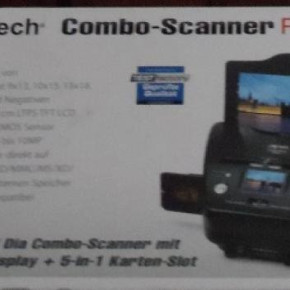 Jay-Tech Combo-Scanner PS970 - Film-, Foto-, Dia-Scanner