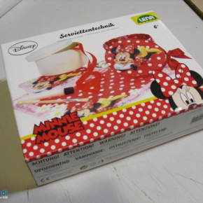 Lena 42582 - Serviettentechnik Disneys Minnie Maus