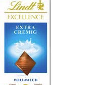 Lindt Excellence Vollmilch Extra Cremig 100 gramm Tafel