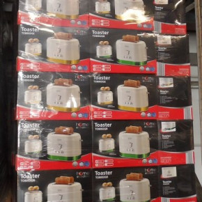 Toaster TO8002GR von Home Electric