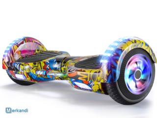 Hoverboard Roller 6,5 Zoll mit Rad LED